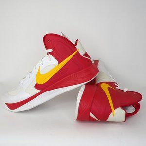 Nike Hyperfuse Mens Shoes Wht Red Rare 2012